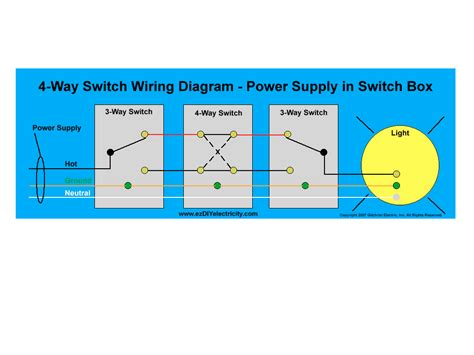 four way light switch cooper 4 way switch wiring diagram fitfathers me
