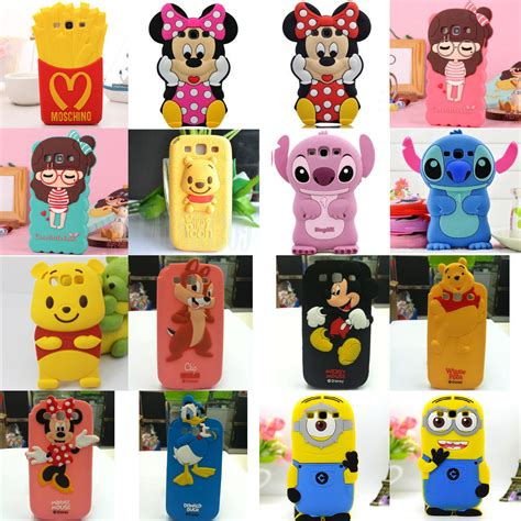Softcase 3d Disney Pooh Samsung Galaxy S3 3d soft animal silicone phone cove for samsung galaxy s3 i9300 ebay
