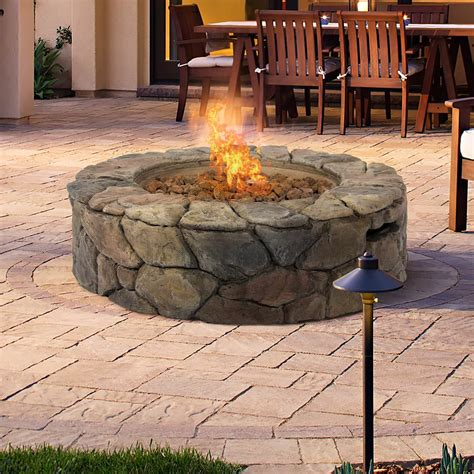 Firepit Gas Top 15 Types Of Propane Patio Pits With Table Buying Guide