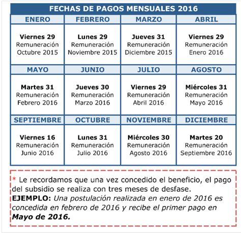 cronograma de pago por nacimiento de mayo 2016 bono mujer trabajadora 2017 calendario de pago