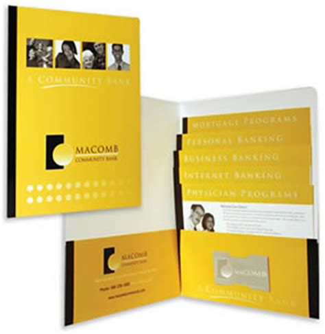 inserts brochures admore 174 folders