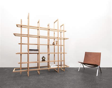 gerard de hoop s grid bookshelf is composed of 12