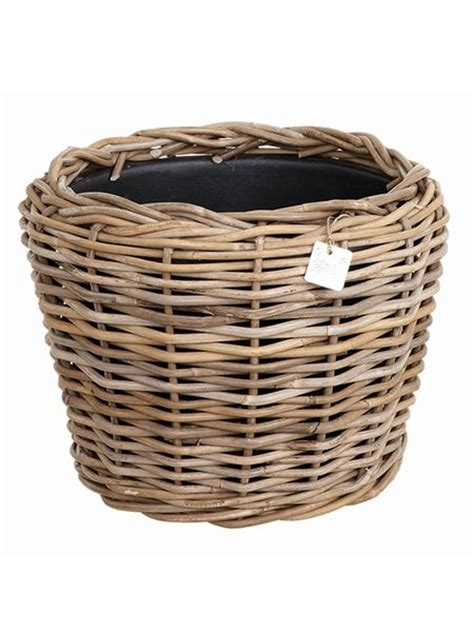 Rattan Planter by Large Rattan Planters Nordic House