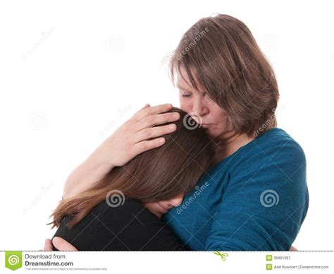 comforting pictures consolation stock image image of people child friend