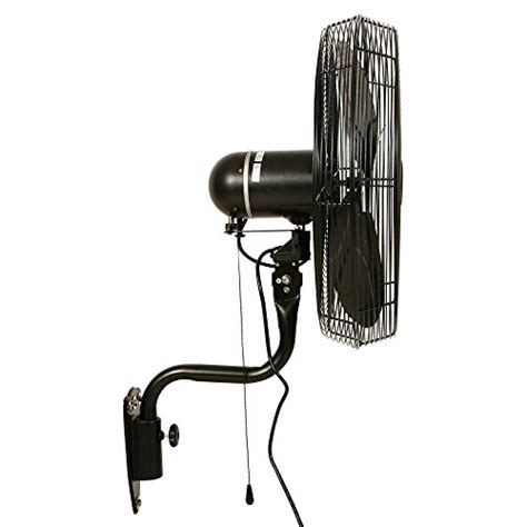 outdoor oscillating fan wall mount 24 quot durafan indoor outdoor oscillating wall mount fan
