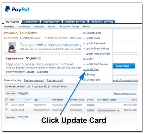 How To Add Mastercard Gift Card To Paypal - how to add or update credit cards in your paypal account