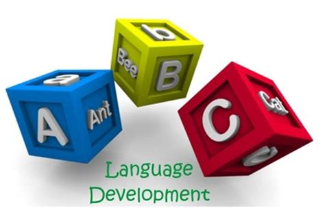 language development language development learning and child development