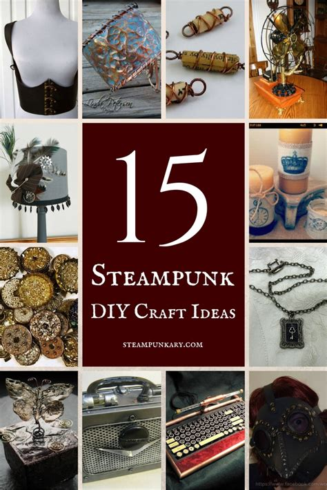costume ideas diy projects craft ideas how to 15 steunk diy craft ideas