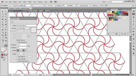 tutorial illustrator lines learn how to create geometric patterns using circles of