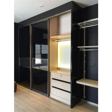 Modular Fitted Wardrobes by Aristo Wooden Sliding Wardrobe Rs 1200 Square