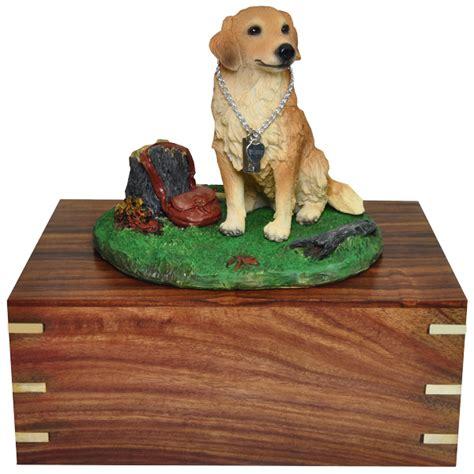 golden retriever urn wholesale pet cremation wood urns golden retriever