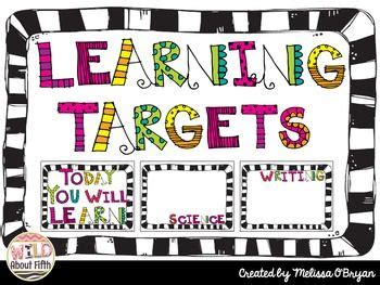 printable learning targets best 25 learning targets ideas on pinterest learning