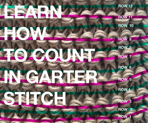 counting stitches in knitting learn how to count rows in your knitting projects the