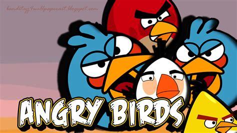 wallpaper cartoon red cartoon red bird hd wallpaper desktop background