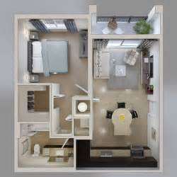 one room apartment 1 bedroom apartment house plans