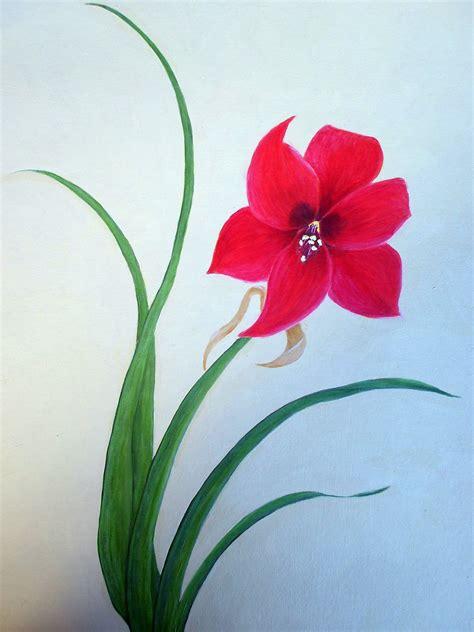 Cool Easy Flower Paintings Www Pixshark Images