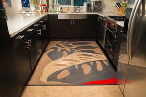 linoleum rugs modern kitchen san francisco by