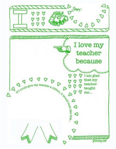 printables for teachers appreciation sheet appreciation