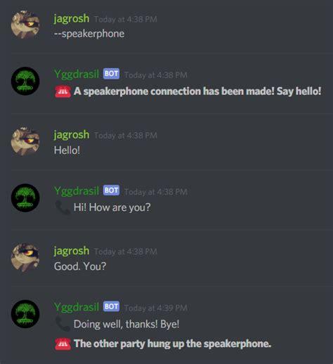 discord welcome bot yggdrasil discord bot