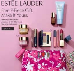 Estee Lauder Gift Card - big 3 bonuses clinique estee lauder lancome gwp addict