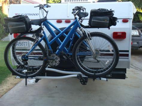 Bike Rack Trailer by Cer Cargo Carrier Solutions Popupbackpacker