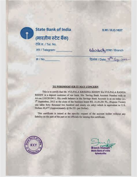 Bank Statement Letter For Passport letter of request for bank statement of account