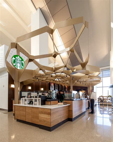 design milk location the starbucks store at t51 in the los angeles airport