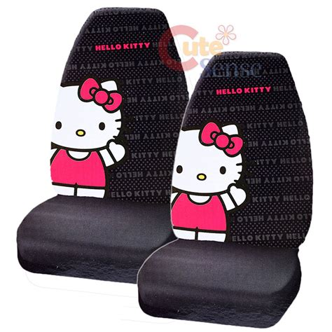 hello seat covers set hello car seat cover auto accessory 2pc front seat