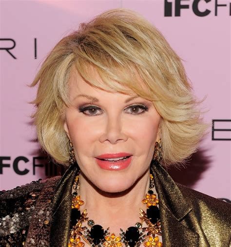 Joan Rivers Hairstyles by Joan Rivers Hairstyle With Side Swept Bangs
