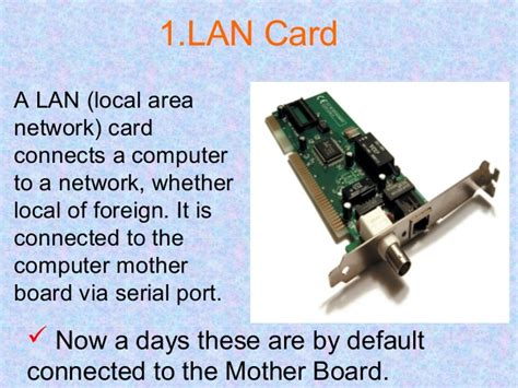 introduction to computing what is port computer hardware and networking components