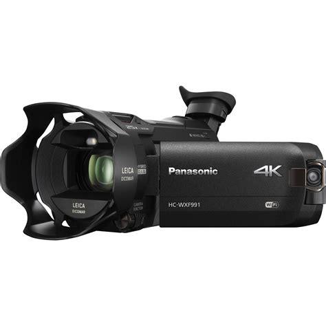 panasonic 4k panasonic hc wxf991k 4k ultra hd camcorder with hc
