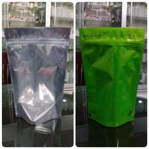 Standing Pouch Transparant With Zipper 250 Gr jual aneka kemasan pouch ud adhika
