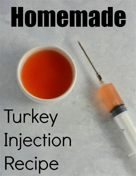 homemade turkey injection recipe save money by making
