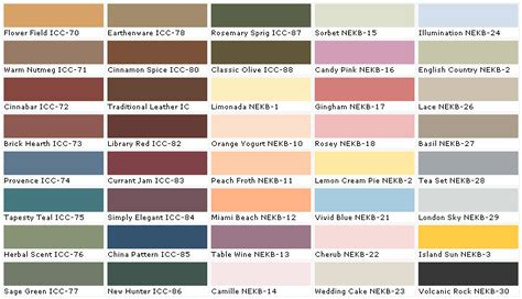 Behr Interior Colors | behr paint colors bbt com