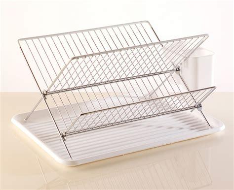 Flat Dish Rack by Flat Pack Dish Drainer White Modern Dish Racks By