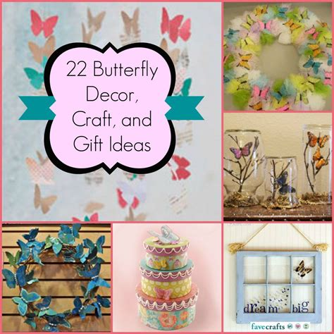 butterfly craft ideas for 22 butterfly decor craft and gift ideas favecrafts