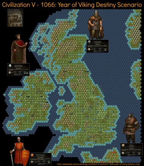 civ5 africa map civilization 5 scenario 1066 year of viking destiny map