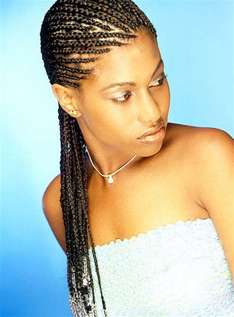 different kind of corn rolled hair styles cornrow braid styles
