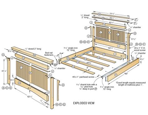 futon blueprint 4 woodworking plans for bed that you can try