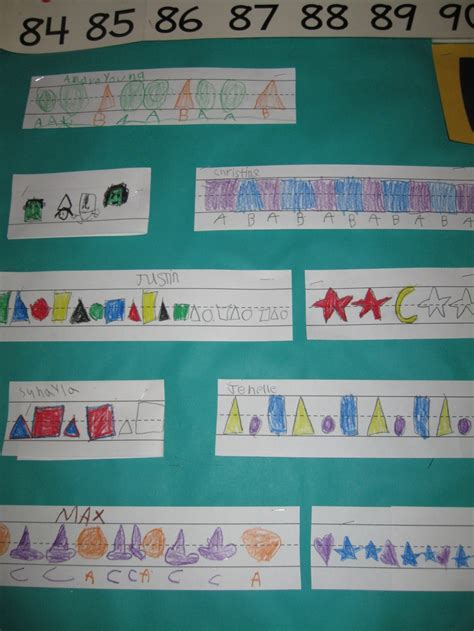 pattern games primary 129 best primary math patterns images on pinterest