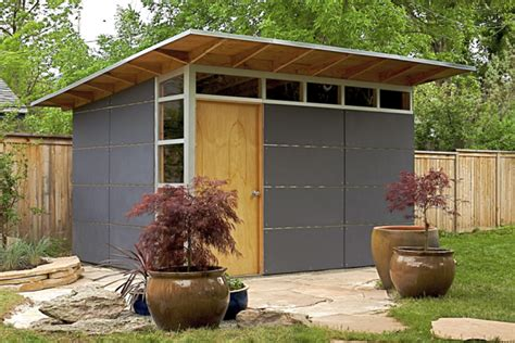 Back Shed by Palo Alto Installs Studio Shed To Complement Their