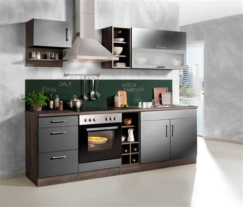 günstige kleine küchen mit elektrogeräten k 252 chenzeile mit elektroger 228 ten rheumri