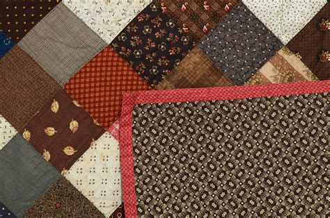 One Patch Quilts by One Patch Charm Quilt For Sale At 1stdibs