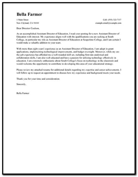 free cover letter exles for teacher assistant cover