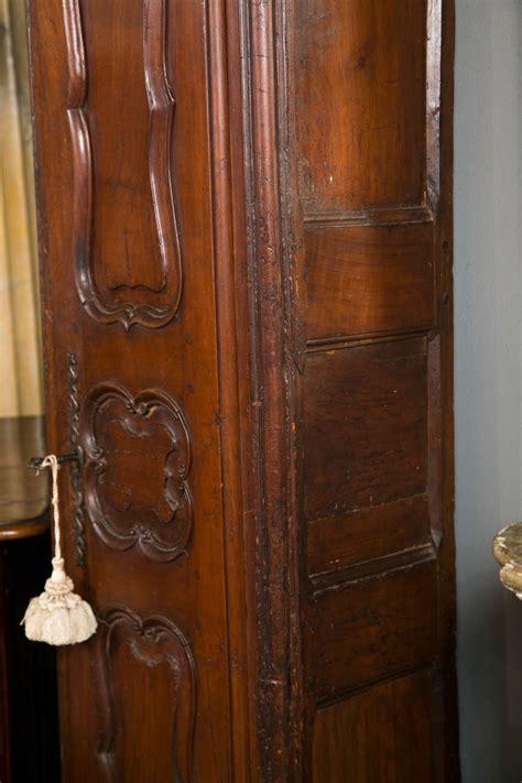 Antique Chimney Cupboard 19th c antique walnut chimney cupboard at 1stdibs