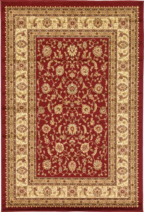 Traditional Rug Oriental Area Rug Persian Style Carpet New Looking Rugs