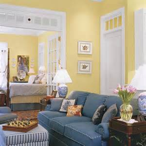 yellow walls living room keep a room sunny yet private with a clever trick