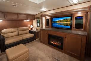 5th wheel with living room in front front living room fifth wheel toy hauler myideasbedroom com