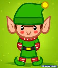 How to draw a christmas elf for kids step by step christmas stuff