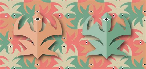 pattern per adobe illustrator i disegni di escher con adobe illustrator